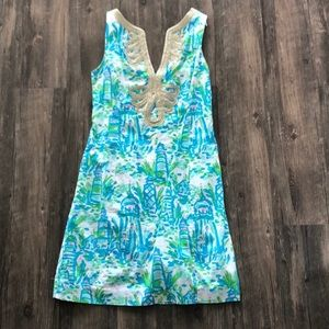 Lilly Pulitzer shift dress sz 2